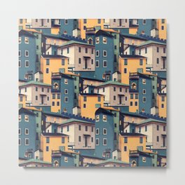 Night Castles (Pattern) Metal Print