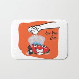 Happy Car Bath Mat