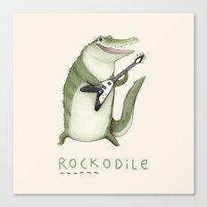 Rockodile Canvas Print