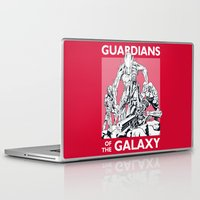guardians of the galaxy Laptop & iPad Skins featuring Guardians by LilloKaRillo