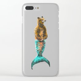 Mer-Bear - West Coast wonders rarely seen Clear iPhone Case