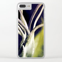 Tillandsia Abstract Clear iPhone Case