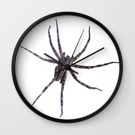 Watercolor Graphic 14, Spider, Wolf, Snow, Itsy Bitsy Spider Wall Clock