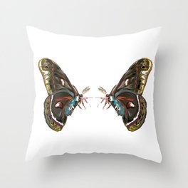 Giant Butterfly  Throw Pillow