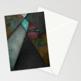 """Grunge metal pattern"" Stationery Cards"