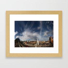Gateshead Quayside Framed Art Print