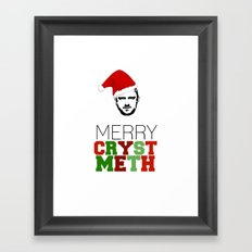 Merry Crystmeth! Framed Art Print