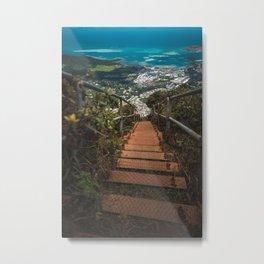 Stairway to Heaven, Hawaii Metal Print
