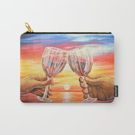 Our Sunset Carry-All Pouch