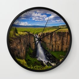 North Clear Creek Falls Wall Clock