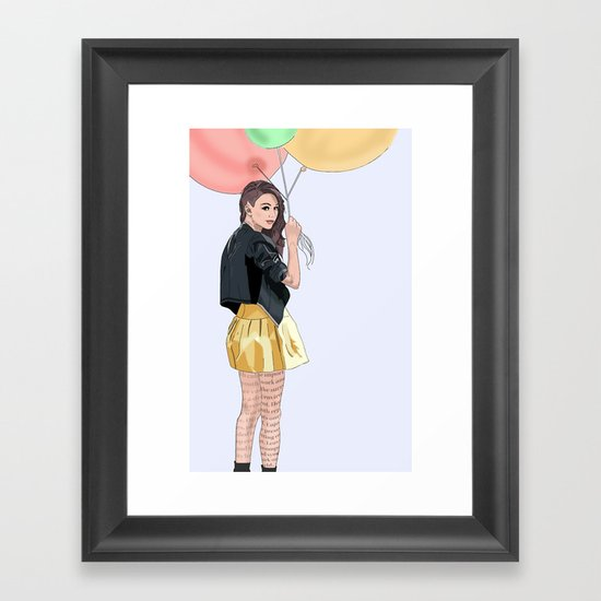 With Your Love Framed Art Print