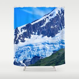 Whittier Glacier - I Shower Curtain