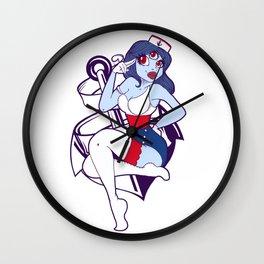 Ahoy Sailor! Wall Clock