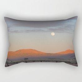 Sierra Valley Moonrise Rectangular Pillow