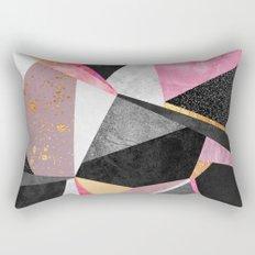 Geometry / Pink Rectangular Pillow