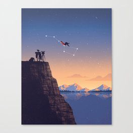 The Big Tripper Canvas Print