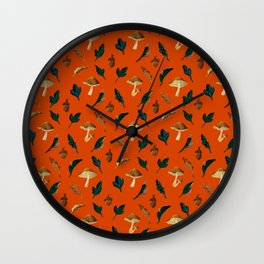 Forest Fruits Wall Clock