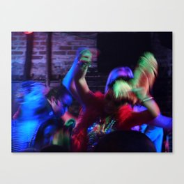 Dancing, 2011.  New Orleans, LA. Canvas Print