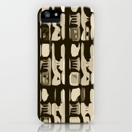 Indian Abstractions  iPhone Case