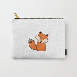 Simple hand drawn fox Carry-All Pouch