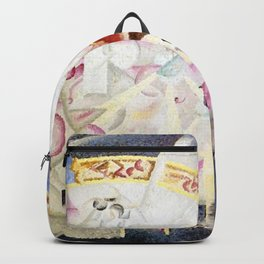 Festival in Montmartre, Paris by Gino Severini Backpack