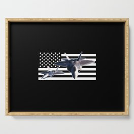 F-22 (Black Flag) Serving Tray