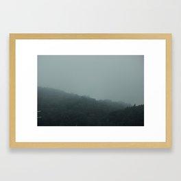 Frankfort Fog Framed Art Print
