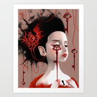 Sariel Art Print