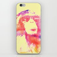 chill iPhone & iPod Skins featuring Chill by orangpalsu