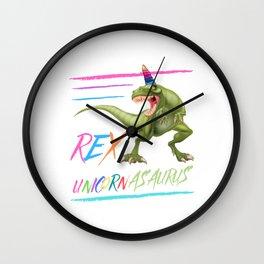 Unicornasaurus Rex Wall Clock