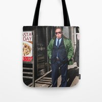 pasta Tote Bags featuring Pasta Day by Josh Ethan Johnson
