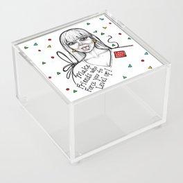 #STUKGIRL MADDY Acrylic Box