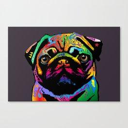 Pug Dog Canvas Print