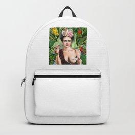 Frida con amigos Backpack