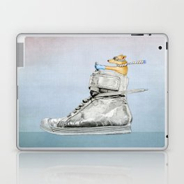 Dog Driving a Shoe Laptop & iPad Skin