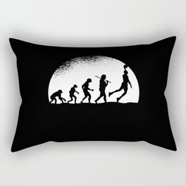 Evolution Baseball Rectangular Pillow