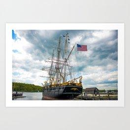 The Last Ship Art Print