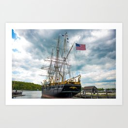 The Last Ship Art Print
