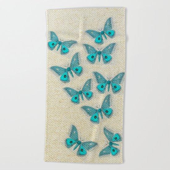 "Coletivo ""Mariposas"" Beach Towel"
