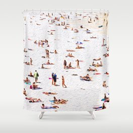 Lay out Shower Curtain