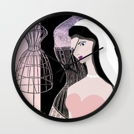 JEZEBEL-VINTAGE-1 Wall Clock
