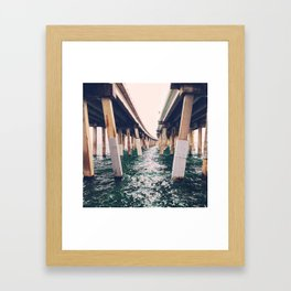 the pull Framed Art Print