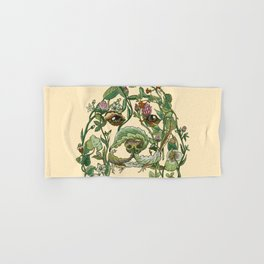 Botanical Beagle Hand & Bath Towel
