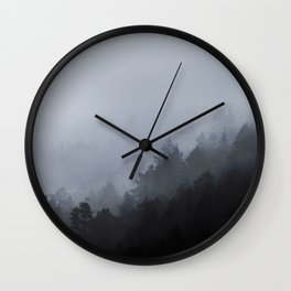 Misty Morning Wall Clock