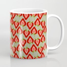 Strawberry hearts forever Coffee Mug