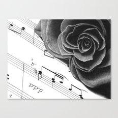 Music and Romance Canvas Print
