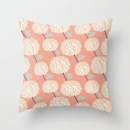 Sweet Petals Throw Pillow
