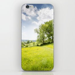 Idyllic Cotswold Summer Landscape iPhone Skin