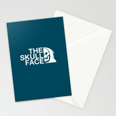 The Skull Face Stationery Cards