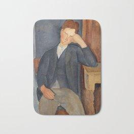 """Amedeo Modigliani """"The Young Apprentice"""" Bath Mat"""